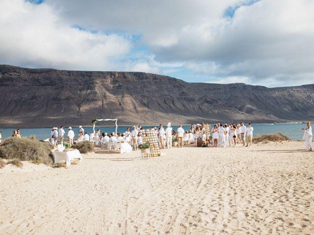 La boda de Nauzet y Laura en Caleta De Sebo (Isla Graciosa), Las Palmas 18