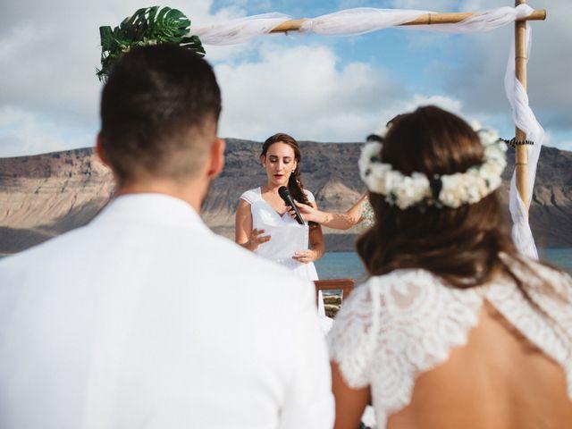 La boda de Nauzet y Laura en Caleta De Sebo (Isla Graciosa), Las Palmas 32