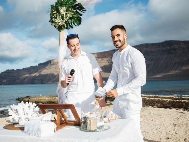 La boda de Nauzet y Laura en Caleta De Sebo (Isla Graciosa), Las Palmas 33