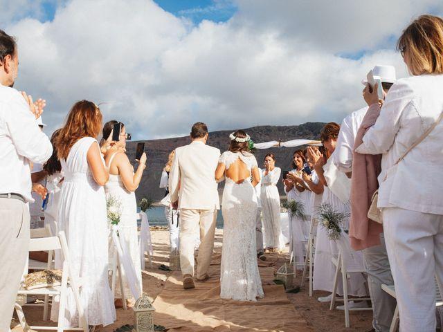 La boda de Nauzet y Laura en Caleta De Sebo (Isla Graciosa), Las Palmas 34