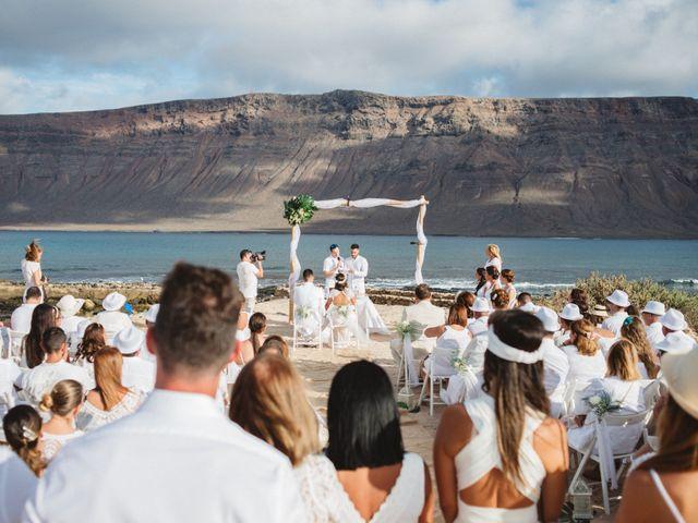 La boda de Nauzet y Laura en Caleta De Sebo (Isla Graciosa), Las Palmas 35