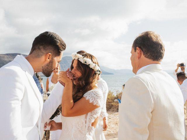 La boda de Nauzet y Laura en Caleta De Sebo (Isla Graciosa), Las Palmas 37