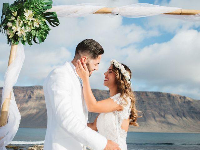 La boda de Nauzet y Laura en Caleta De Sebo (Isla Graciosa), Las Palmas 40