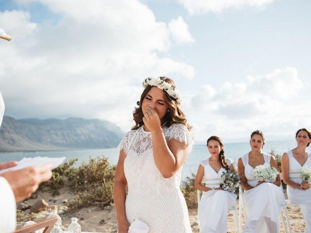 La boda de Nauzet y Laura en Caleta De Sebo (Isla Graciosa), Las Palmas 43