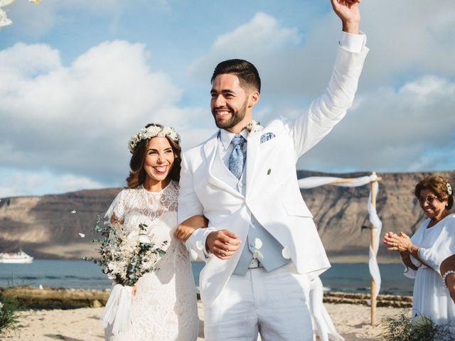 La boda de Nauzet y Laura en Caleta De Sebo (Isla Graciosa), Las Palmas 51