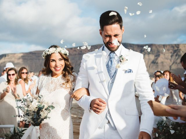 La boda de Nauzet y Laura en Caleta De Sebo (Isla Graciosa), Las Palmas 52