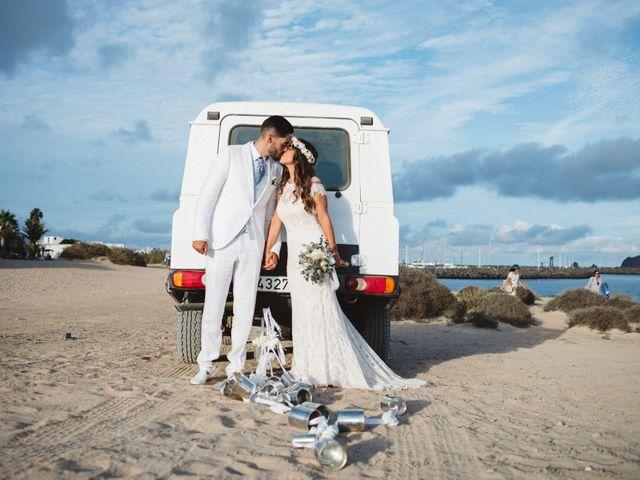 La boda de Nauzet y Laura en Caleta De Sebo (Isla Graciosa), Las Palmas 53