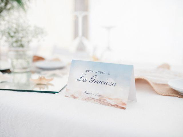 La boda de Nauzet y Laura en Caleta De Sebo (Isla Graciosa), Las Palmas 72