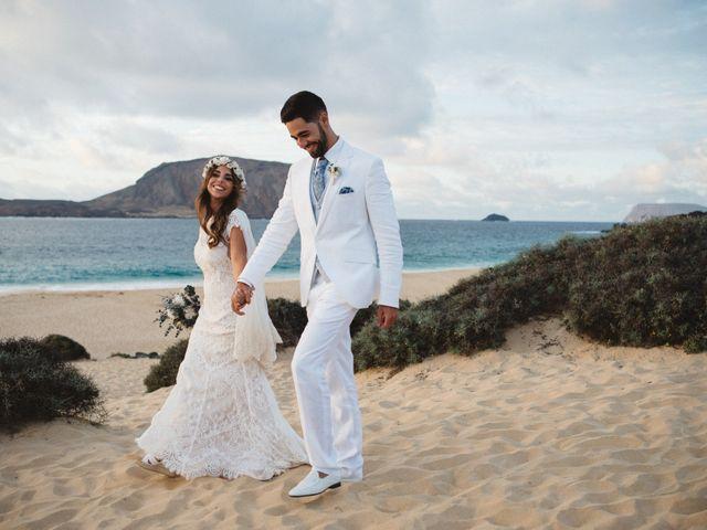 La boda de Nauzet y Laura en Caleta De Sebo (Isla Graciosa), Las Palmas 73