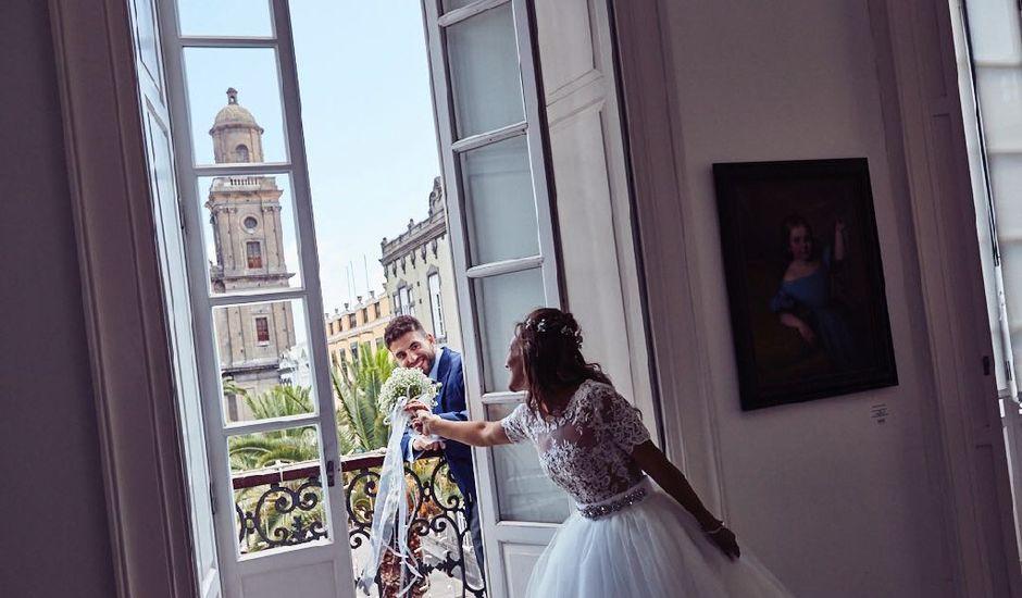 La boda de Benjamin  y Silvia  en Las Palmas De Gran Canaria, Las Palmas