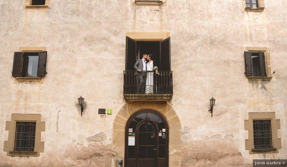 La boda de Andres y Gemma en Sant Marti De Centelles, Barcelona