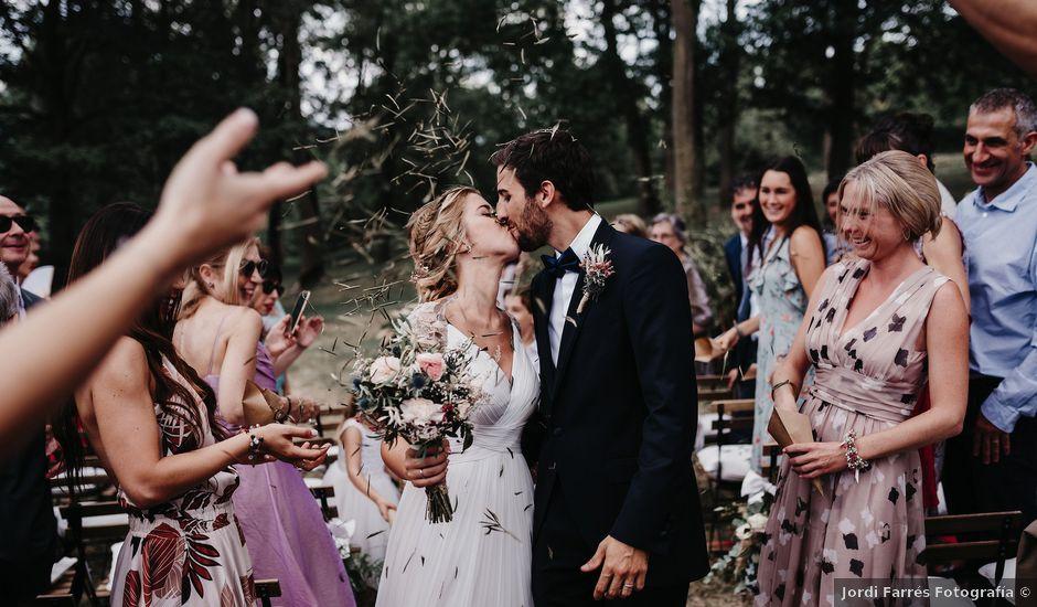 La boda de Miki y Laura en Camprodon, Girona