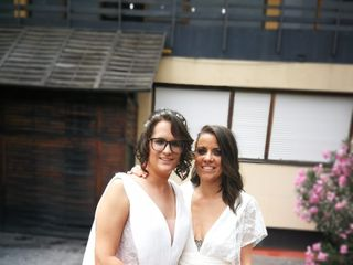 La boda de Tania y Patri