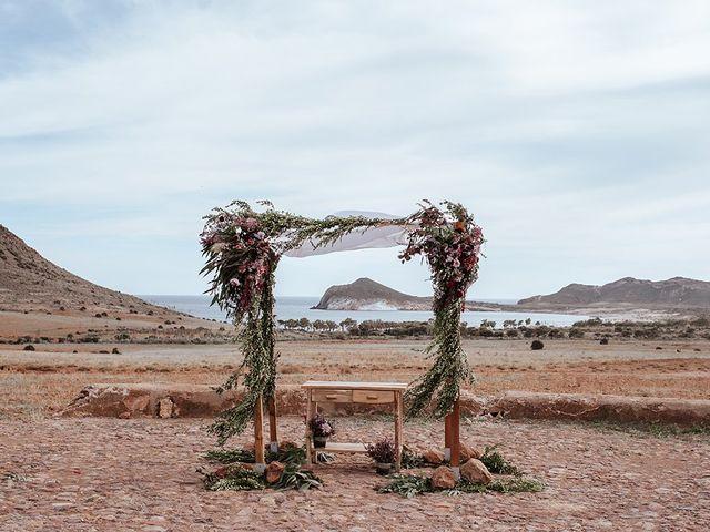 La boda de Dan y Eli en San Jose, Almería 24