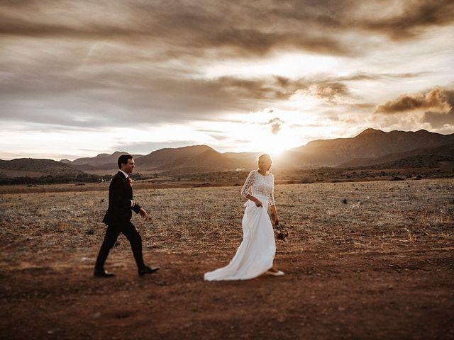 La boda de Dan y Eli en San Jose, Almería 1