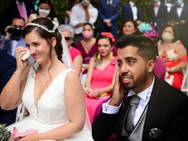 La boda de Irene y Daniel en Valdastillas, Cáceres 42