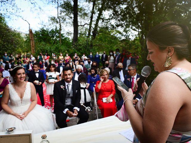 La boda de Irene y Daniel en Valdastillas, Cáceres 44