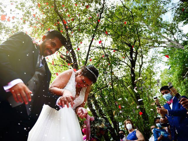 La boda de Irene y Daniel en Valdastillas, Cáceres 49