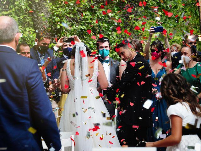 La boda de Irene y Daniel en Valdastillas, Cáceres 51