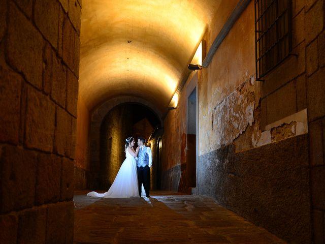 La boda de Irene y Daniel en Valdastillas, Cáceres 86
