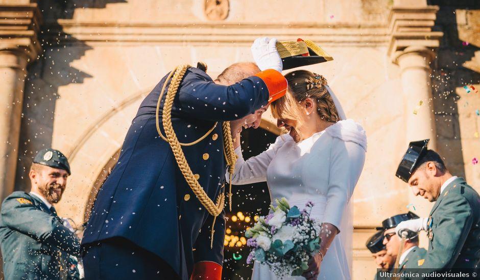 La boda de Javier y Cynthia en Trujillo, Cáceres