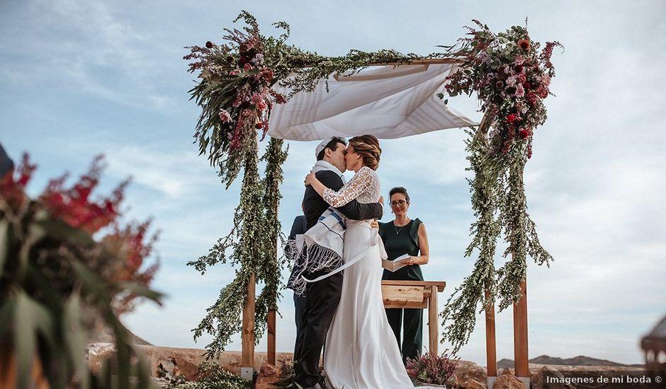 La boda de Dan y Eli en San Jose, Almería