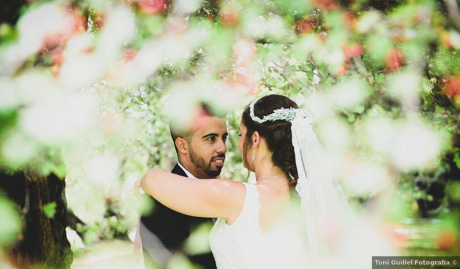 La boda de Irene y Daniel en Valdastillas, Cáceres