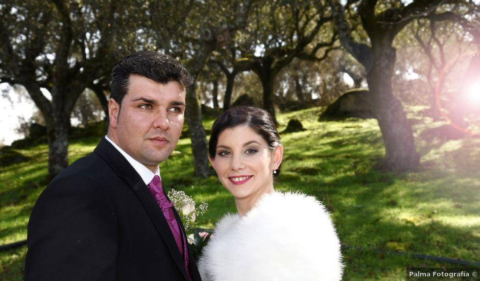 La boda de Jony y Sara en Valdeobispo, Cáceres