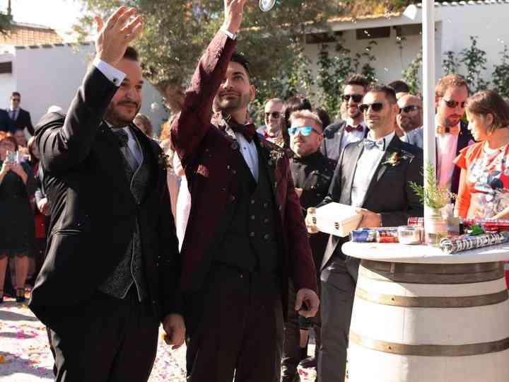 La boda de Fco Javier y Daniel