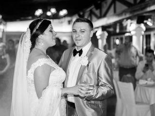 La boda de Andreea y Adelin