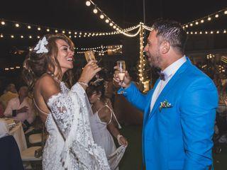 La boda de Emmanuelle y Angelo