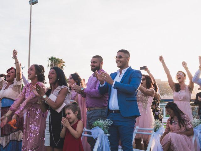La boda de Angelo y Emmanuelle en La/villajoyosa Vila Joiosa, Alicante 34