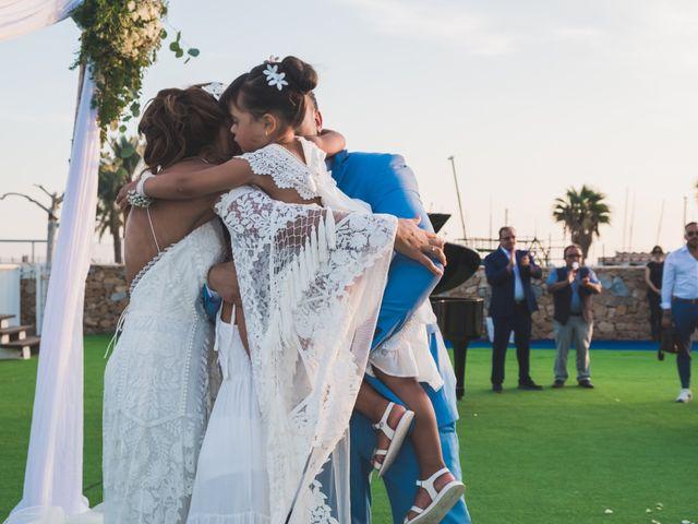 La boda de Angelo y Emmanuelle en La/villajoyosa Vila Joiosa, Alicante 36
