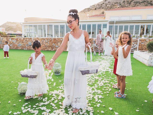 La boda de Angelo y Emmanuelle en La/villajoyosa Vila Joiosa, Alicante 22