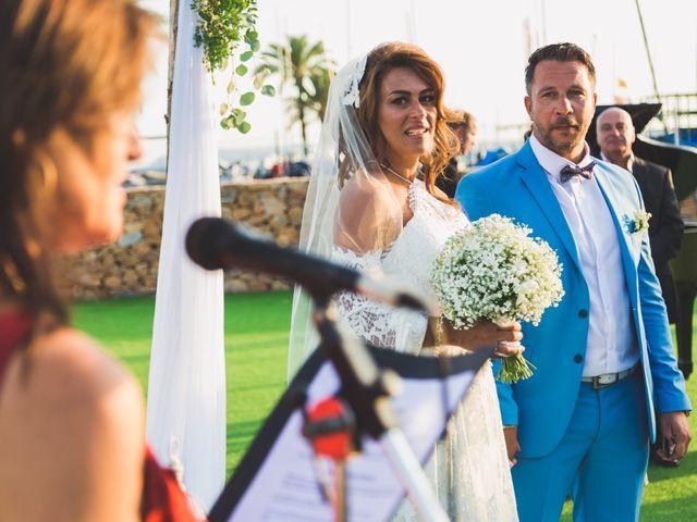 La boda de Angelo y Emmanuelle en La/villajoyosa Vila Joiosa, Alicante 30