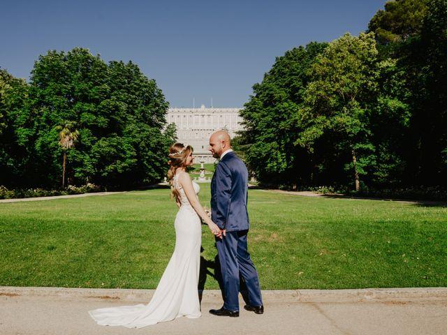 La boda de Diego y Natalia en Madrid, Madrid 38