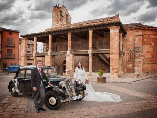 La boda de Daniel y Sara en Ayllon, Segovia 1