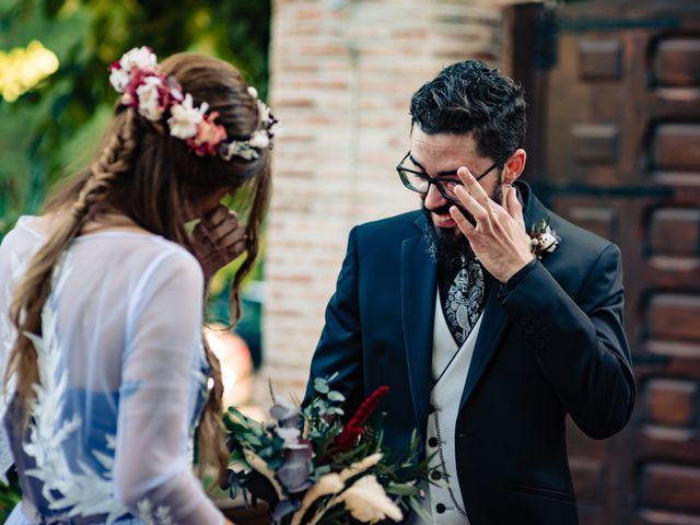 La boda de Gus y María en Saelices, Cuenca 17
