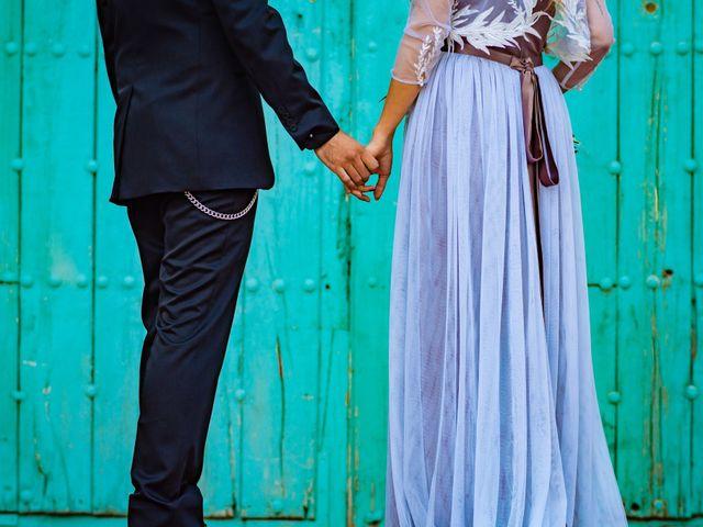 La boda de Gus y María en Saelices, Cuenca 19