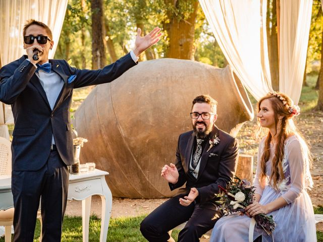 La boda de Gus y María en Saelices, Cuenca 23