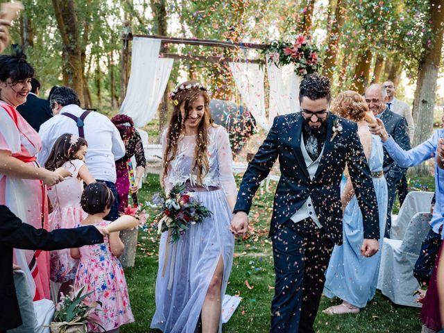 La boda de Gus y María en Saelices, Cuenca 25