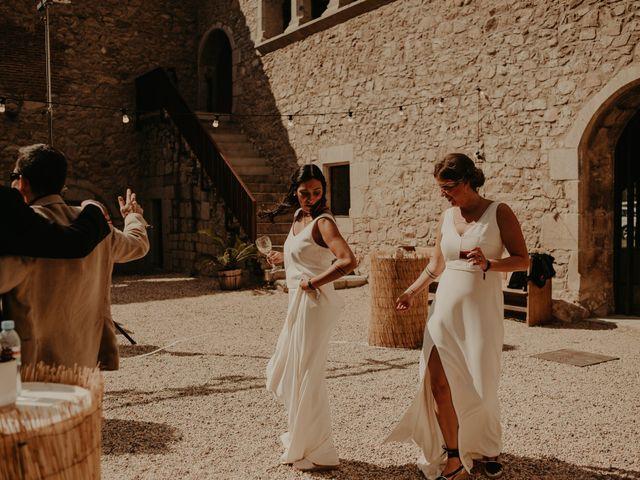 La boda de Mireia y Marta en Sant Hilari Sacalm, Girona 25