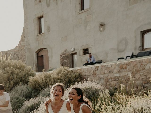 La boda de Mireia y Marta en Sant Hilari Sacalm, Girona 42