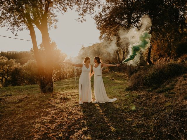 La boda de Marta y Mireia
