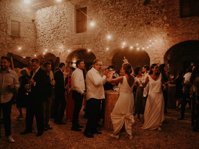 La boda de Mireia y Marta en Sant Hilari Sacalm, Girona 63