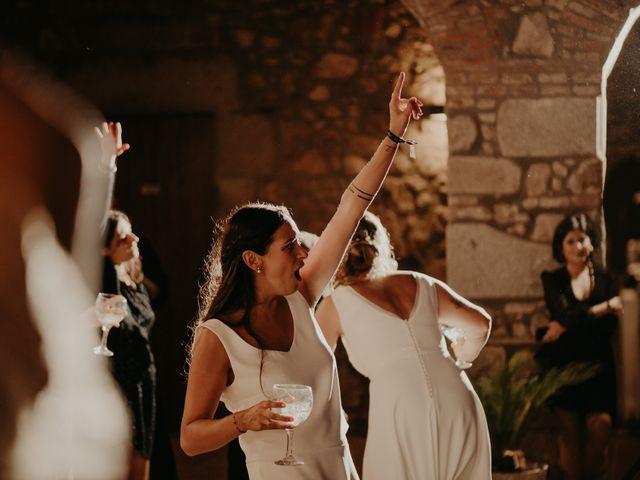 La boda de Mireia y Marta en Sant Hilari Sacalm, Girona 68