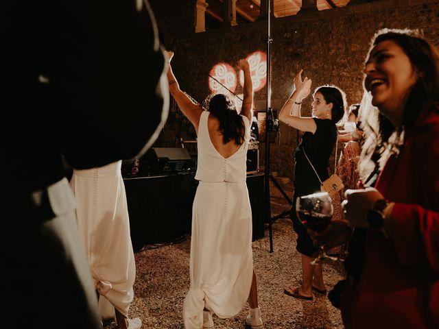 La boda de Mireia y Marta en Sant Hilari Sacalm, Girona 69