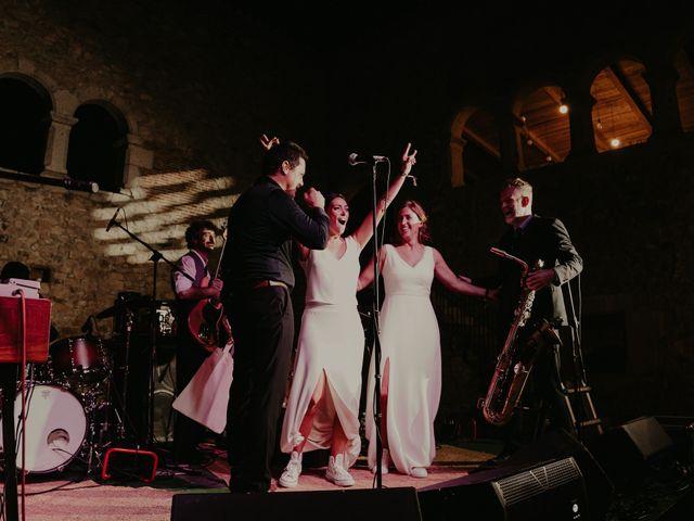 La boda de Mireia y Marta en Sant Hilari Sacalm, Girona 70