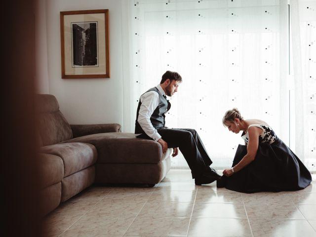 La boda de Jaime y Lorena en Sant Cugat Sesgarrigues, Barcelona 9