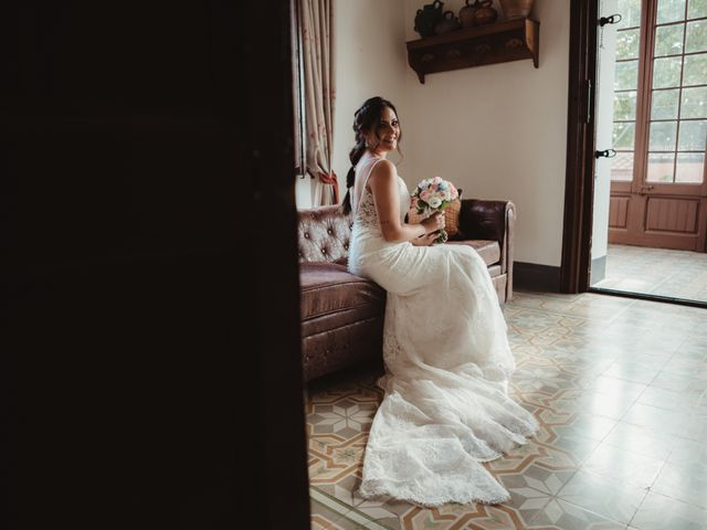 La boda de Jaime y Lorena en Sant Cugat Sesgarrigues, Barcelona 34